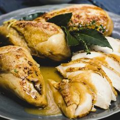 Poached Chicken or Turkey Breasts My Recipes, Holiday Recipes, Chicken Recipes, Whole Turkey, Poached Chicken, Turkey Breast, Catering, Dishes, Eat