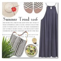 """""""Best Trend of 2016  ♡♡"""" by preciouspearll ❤ liked on Polyvore featuring Kerr®, H&M, Lands' End, Summer and besttrend2016"""