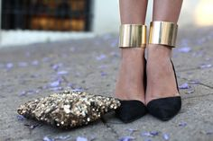 #fierce #metallic #fashion #gold