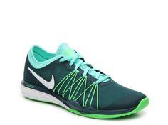 Women's Nike Dual Fusion Hit Training Shoe -  - Navy/Teal/Green