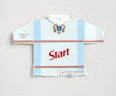 Leo Fitzmaurice, 'Post Match, Start' 2013, Folded cigarette-packet top.