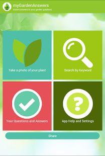 GardenAnswers Plant Identifier App