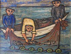 Fishermen, 1956