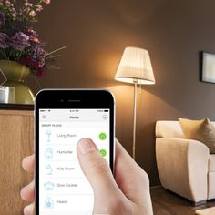 Control electronics from anywhere using your tablet or smartphone with the HS100 Smart Plug.
