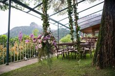 Romance, Arch, Sidewalk, Outdoor Structures, Garden, Wedding Decoration, Luxury, Romance Film, Romances