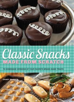 Classic Snacks Made from Scratch Giveaway! The contest ends tomorrow, so go comment on the post now for a chance to win.