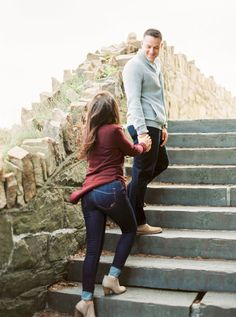 Brittany and Gary's Fall Newport Rhode Island Engagement Photos on The Newport Bride