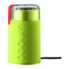 Bodum Bistro Electric Blade Coffee Grinder, Green by Bodum, http://www.amazon.com/dp/B00430AXIM/ref=cm_sw_r_pi_dp_TmiJrb14V63B7
