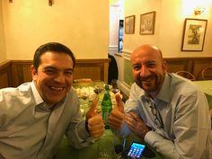 """Ο χρήστης Xavier Bettel στο Twitter: """"Still friends 1-1 @CharlesMichel and @tsipras_eu ;-) XB https://t.co/LXzNETregK"""""""