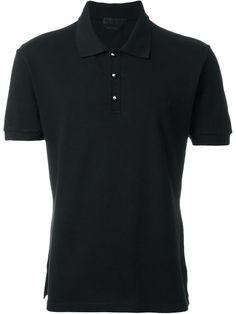 ALEXANDER MCQUEEN Stud Button Polo Shirt. #alexandermcqueen #cloth #shirt