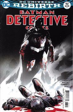 DC Universe Rebirth Batman Detective Comics issue 967 Limited variant