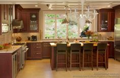 pictures kitchens traditional dark wood kitchens cherry color pictures kitchens traditional green kitchen cabinets