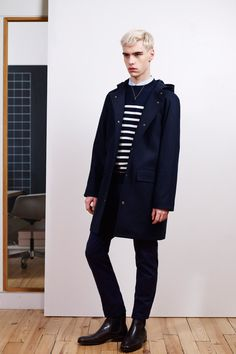 A.P.C. Fall 2013 Menswear Collection Slideshow on Style.com