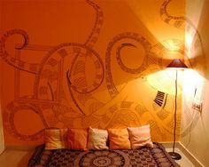 Octopus Wall Mural.