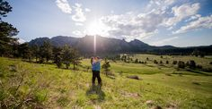 NCAR Engagement Session Boulder Wide Angle Panoramic Photos