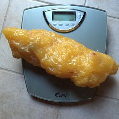"""This is what 5 pounds of fat looks like. Not a pretty picture and it FEELS heavy. They say, """"sitting is the new smoking."""" Most of us are…"""