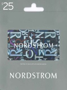 Nordstrom Gift Card $25 Gift Card Deals, Best Gift Cards, Top 5 Christmas Gifts