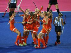 Vrijdag 10 augustus 2012 Hockey dames goud