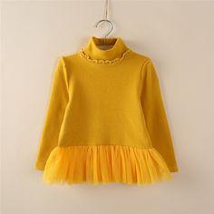 14$ Korean cotton children's clothing girls Sweatshirt high necked lace skirt bottoming shirt plus velvet sweater children girls-in Hoodies & Sweatshirts from Mother & Kids on Aliexpress.com | Alibaba Group