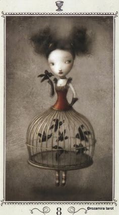 Eight of Cups - Nicoletta Ceccoli Tarot by Nicoletta Ceccoli