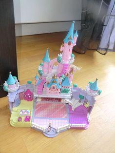 Polly Pocket Bluebird Disney Château Cendrillon/Cinderella Castle/Cenerentola in Jeux, jouets, figurines, Minis univers, Polly Pocket   eBay