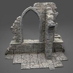 Table Games, Stone Carving, 3d Design, Diorama, Sculpture, Mirror, Architecture, Uni, Frost