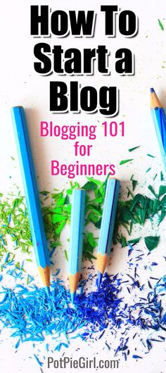 How to start a blog - learn how to blog for money