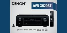 With #Bluetooth, #4K support, and 5 #HDMI inputs, the #Denon AVR-X520BT #AVreceiver is equipped to take care of all your #multimedia needs. #Onsale at Ooberpad at the best price online: https://www.ooberpad.com/collections/denon/products/denon-avr-x520bt-5-2-channel-wireless-av-receiver