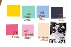 Our swatches