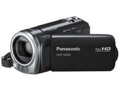 Panasonic SD40 Full HD Camcorder - Black (SD Card Recording, x16.8 Optical Zoom, Wide Angle Lens, iA + AF Tracking) Panasonic http://www.amazon.co.uk/dp/B004I1KPNO/ref=cm_sw_r_pi_dp_IpyZvb194S0NX