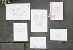 Photograph by: Christian Oth Photography  |  Invitations by: Haute Papier.