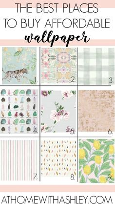 The best places to buy affordable wallpaper. I share paste options and peel and stick products that are cheap. Where to find inexpensive, beautiful wallpaper online. My tips will show you how I've made my wallpaper dreams come true on a budget. I share my Stick On Wallpaper, Cheap Wallpaper, Modern Wallpaper, Of Wallpaper, Beautiful Wallpaper, Where To Buy Wallpaper, Accent Wallpaper, Renters Wallpaper, Shopping