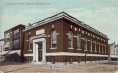 The former Carnegie library in Bradford, Pennsylvania, is now a restaurant called Beefeaters - CityLab