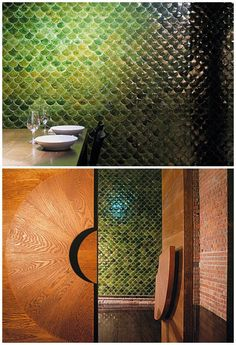 Fish scale tiles – via The Design Files