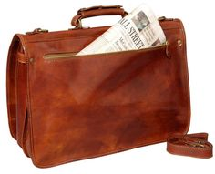 Leather Laptop Case - Made in Florence, Italy
