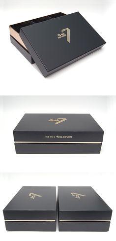 #S-OIL SEVEN 패키지 #고급박스 #모아패키지 #package Scarf Packaging, Tea Packaging, Luxury Packaging, Custom Packaging, Jewelry Packaging, Packaging Design, Branding Design, Bakery Packaging, Luxury Logo Design
