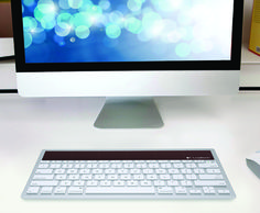 We are loving these SOLAR Powered keyboards!  http://ospa.me/1EfreVw