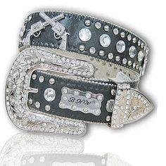 Black Cowgirl belt!   WANT