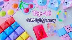10 DIY FIDGET TOY / how to make pop it / HOW TO MAKE EASY FIDGET TOYS AT HOME / paper craft - YouTube Pop It Toy, Diy Fidget Toys, Barbie Miniatures, Busy Board, Summer Crafts, Make It Simple, The Creator, Paper Crafts, Youtube