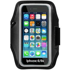 Skylarking Sweat Proof Running & Exercise Armband Case with Key, Credit Card / Money Holder & Reflective Band for iPhone 6 / 6S (4.7-Inch). Compatible with iPhone 6 / 6S (4.7-Inch). Features: Built in key holder, ID/Credit Card/Cash Holder and earphone jack openings. Quality Materials: Made from premium lightweight neoprene; sweat proof, durable and protects your device all around. Full Touchscreen Compatibility: Clear protective screen window offers full function of your phone…
