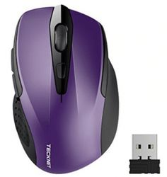 From Wireless Mouse Tecknet Pro Usb Cordless Mice Optical Pc Computer Laptop Mouse With 24 Month Battery Life 2600 Dpi 5 Adjustment Levels Nano Receiver 6 Buttons For Windows Mac Macbook Linux Wireless Computer Mouse, 4g Wireless, Pc Computer, Laptop Computers, Bluetooth, Macbook, Smart Auto, Usb Stick, Best Laptops
