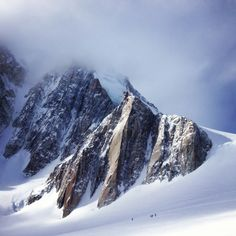 Valle Blanche, Chamonix, France. Molly Warner.