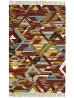 Teppich Kilim Multicolor