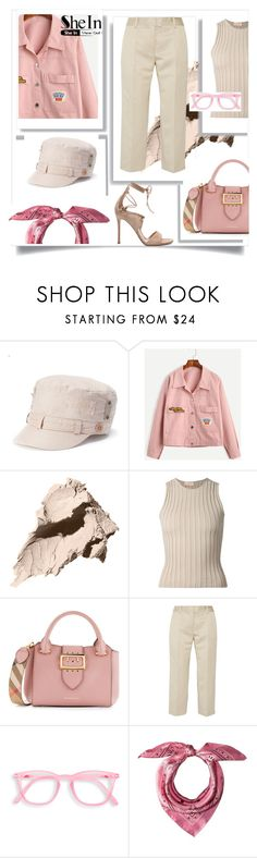 """Untitled #860"" by forkelly1 ❤ liked on Polyvore featuring Croft & Barrow, Bobbi Brown Cosmetics, Brock Collection, Burberry, Isabel Marant, MCM and Gianvito Rossi"