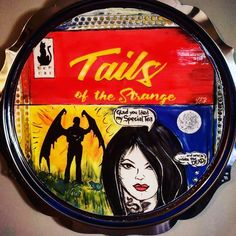 """Hep Cat Tails of the Strange series, ceramic disc inside a silverplate """"frame"""". Femme fatales with a taste for danger. Cat Tails, Silver Plate, Artworks, Ceramics, Cats, Frame, Ceramica, Picture Frame, Pottery"""
