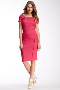 Nicole Miller Karina Linen Blend Dress