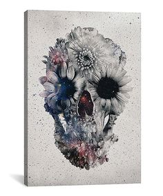 Look at this Ali Gulec Floral Skull II  Gallery-Wrapped Canvas on #zulily today!