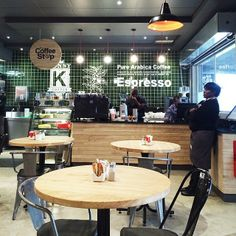 Pretty decent coffee shop with pretty decent coffee inside the new Builders' Warehouse in Sunninghill (at Builders Warehouse)