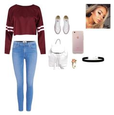 """Untitled #128"" by akars on Polyvore featuring Paige Denim, Converse, Rebecca Minkoff, Vintage and 2028"