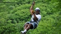 Fly like a bird above the lush vegetation of a tropical forest on a half-day canopy zipline tour from Mazatlan. Glide over the tumbling Sierra Madre foothills before swooping down to a mescal factory tasting tour.